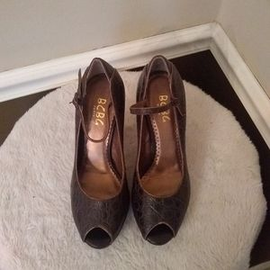 BCBG Paris Brown heels